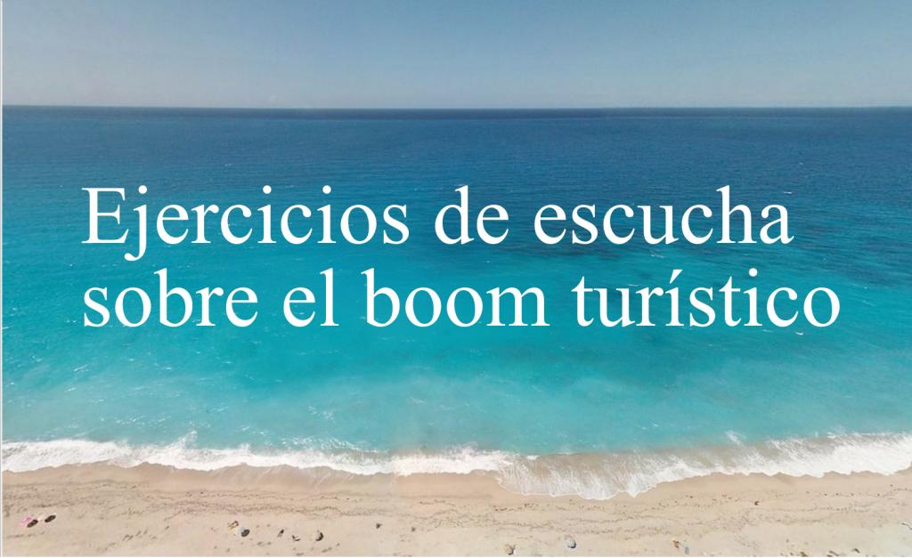 Ejercicos de escucha en espanol sobre el turismo