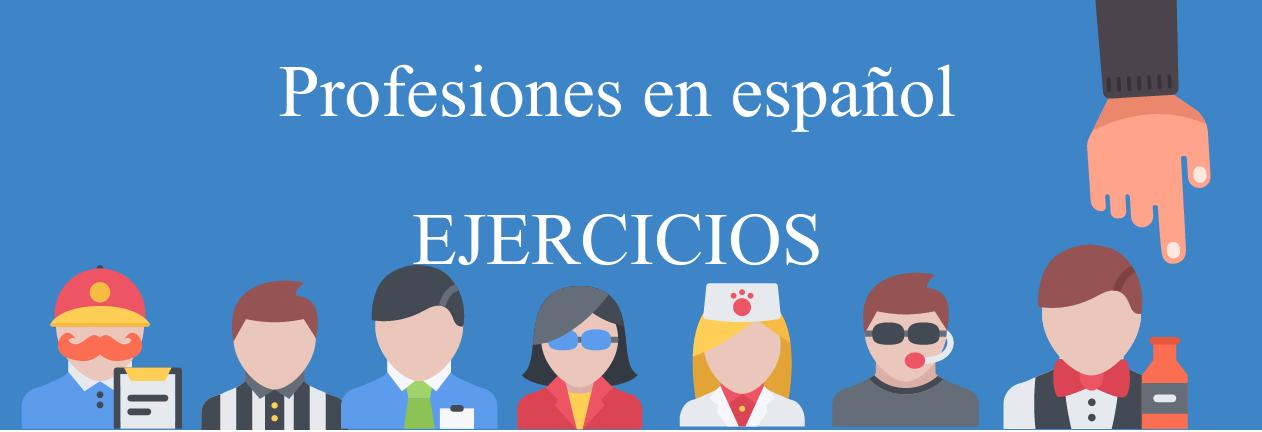 profesiones en espanol