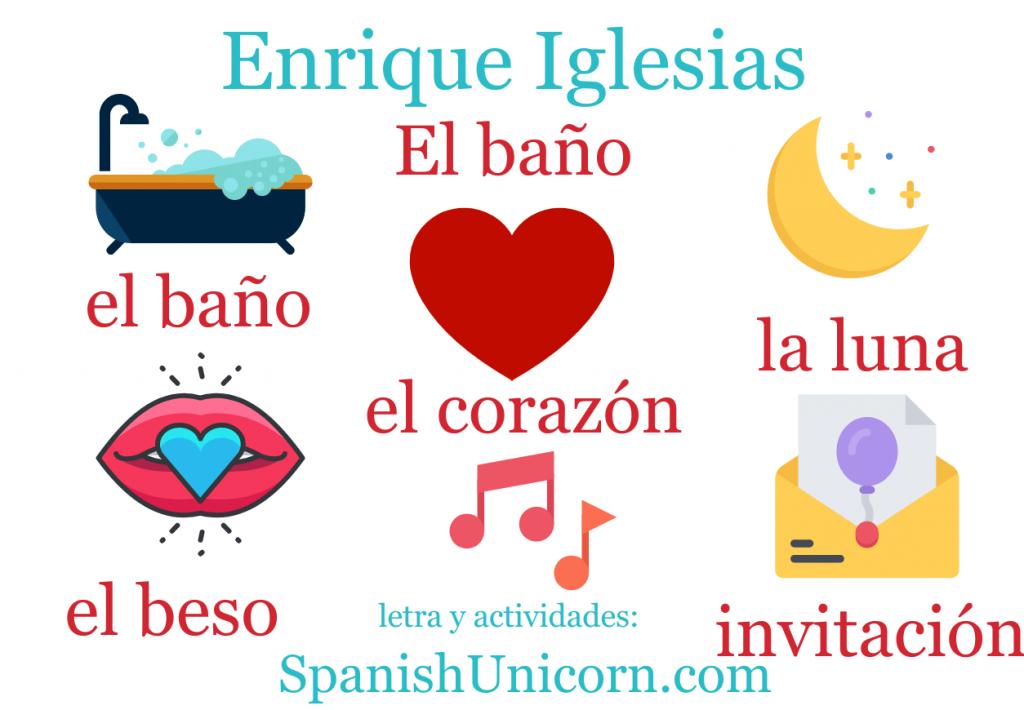 El baño - Enrique Iglesias