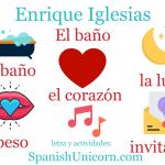 EL BAÑO – Enrique Iglesias