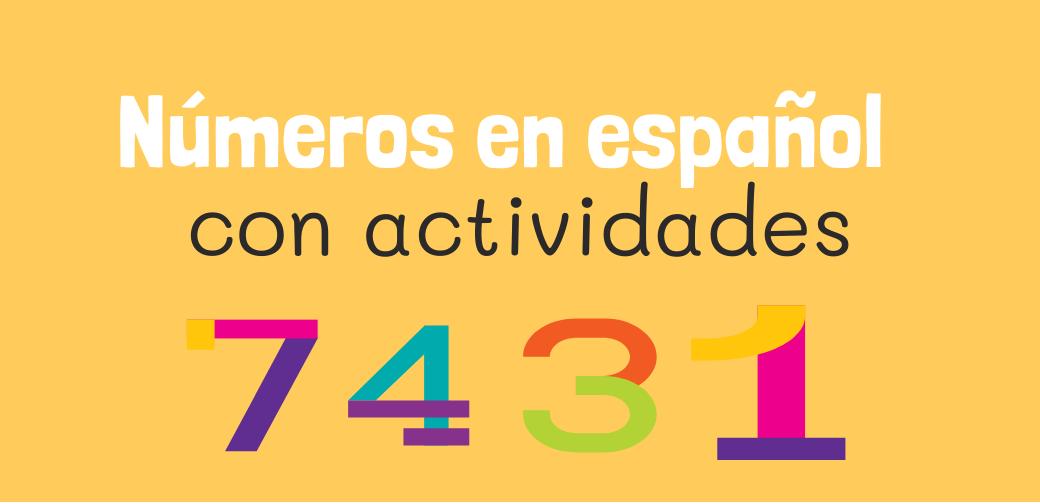 Números en español: del 0 al 10 con ejercicios