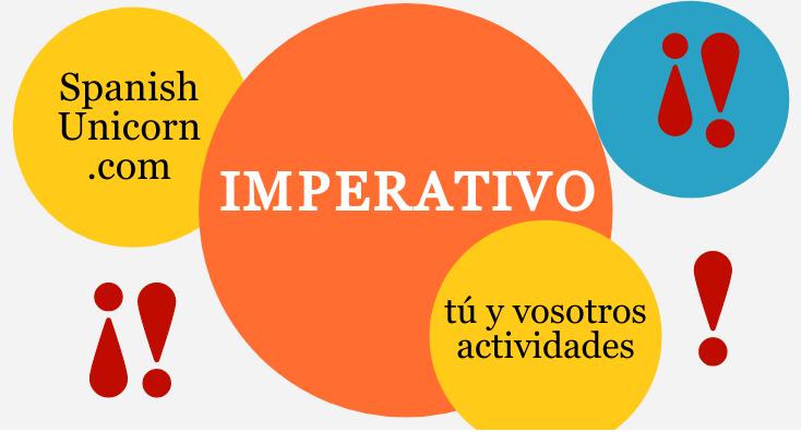 ejercicios de imperativo