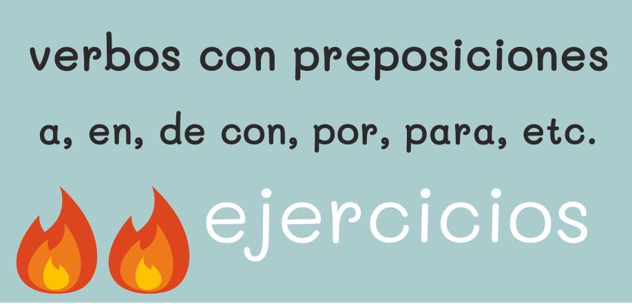 易 B2:  verbos con preposiciones