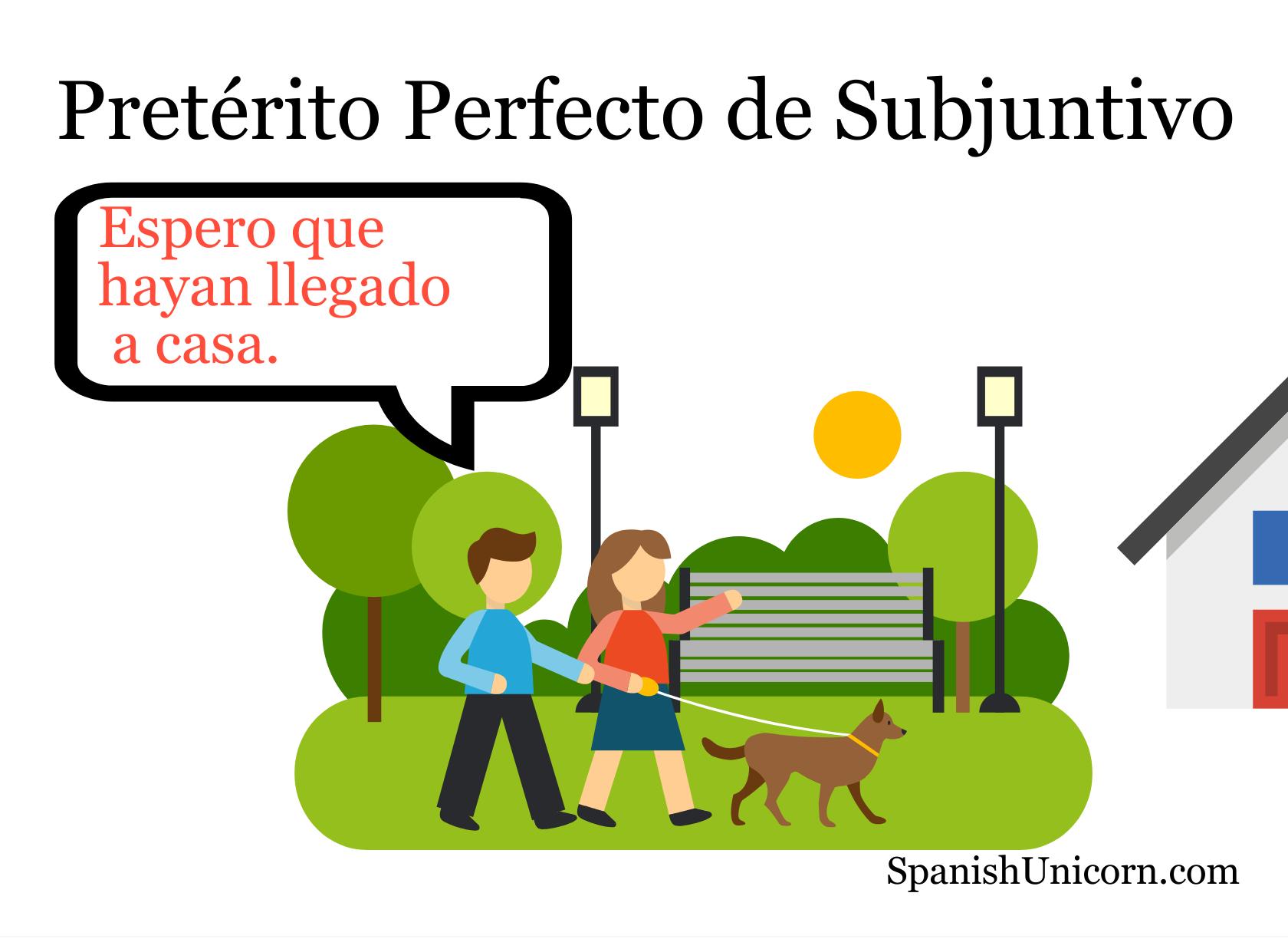 Pretérito Perfecto de Subjuntivo EJERCICIOS