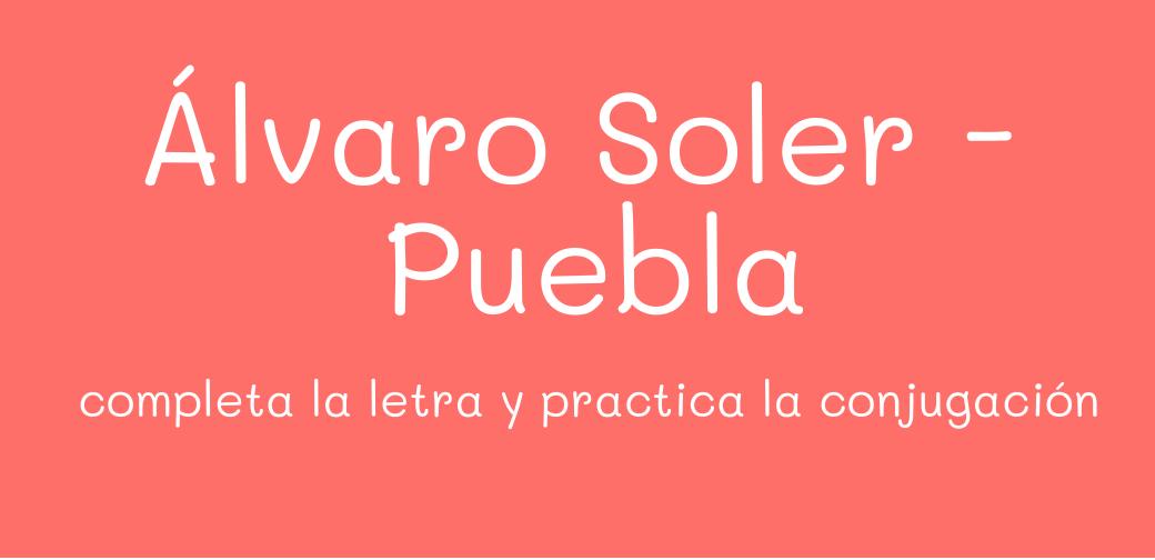 Álvaro Soler – Puebla con actividades