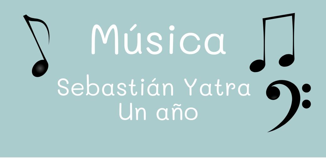 Letra Sebastián Yatra - Un año