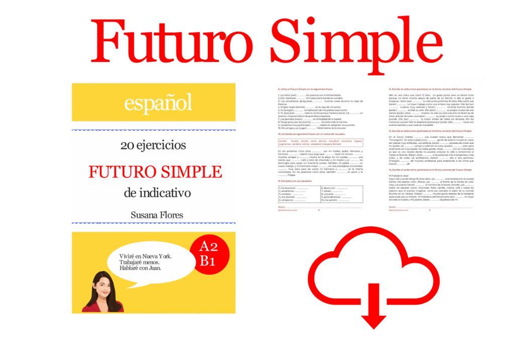 futuro simple ejercicios