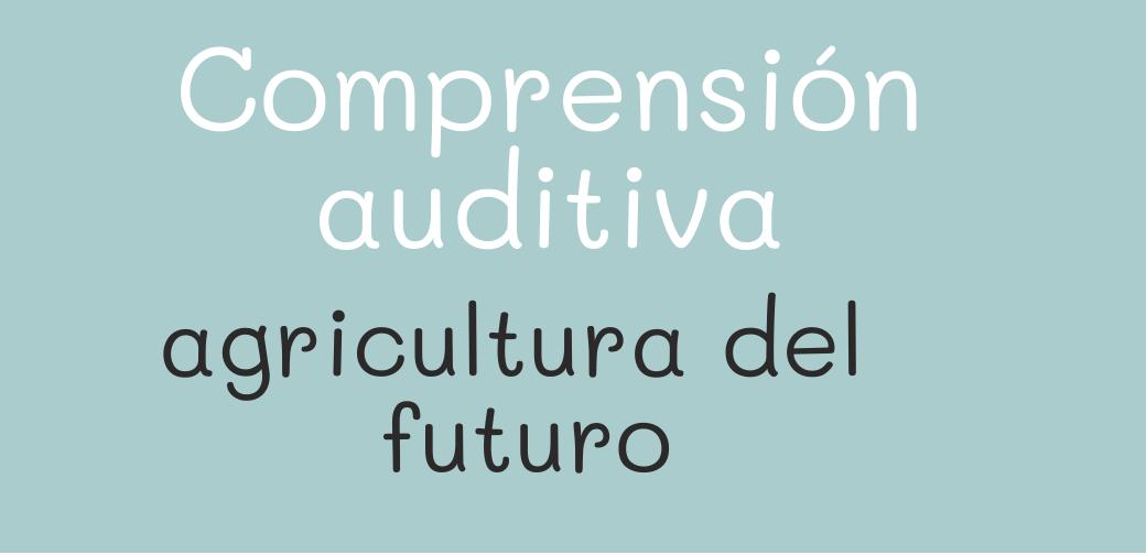 Agricultura urbana para el futuro
