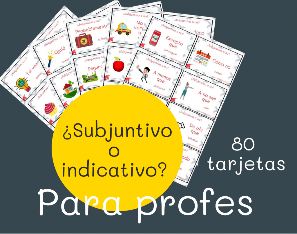 Subjuntivo o indicativo juego