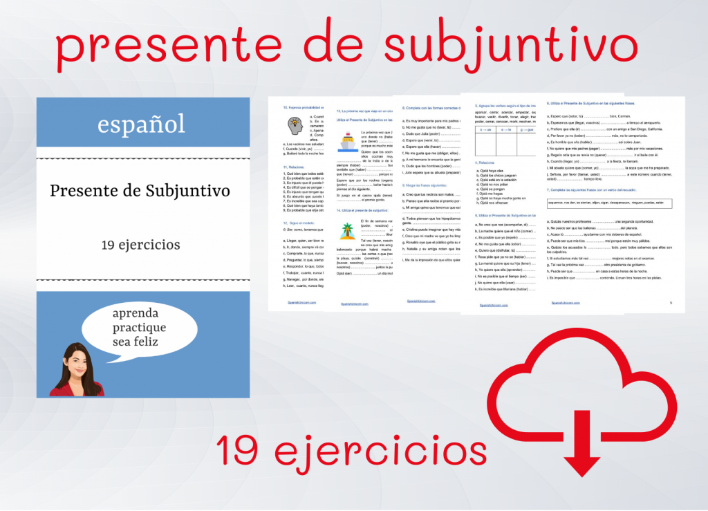 Spanish Exercises - Subjunctive