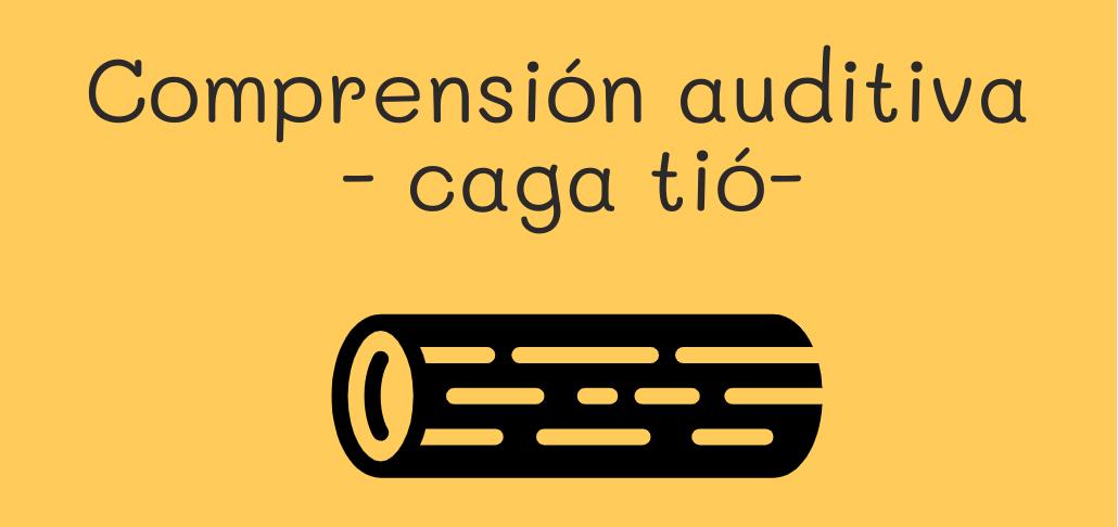 Caga tió origen y ejercicios de escucha