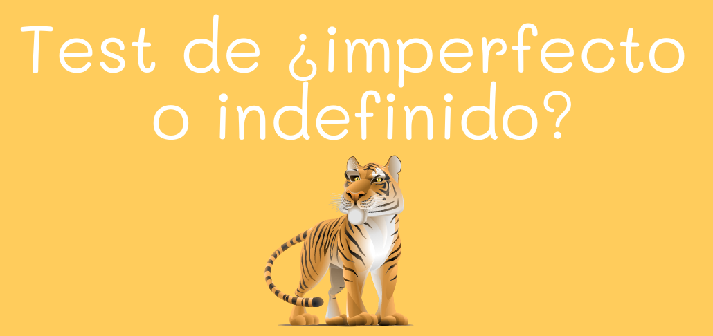 Test de ¿imperfecto o indefinido?