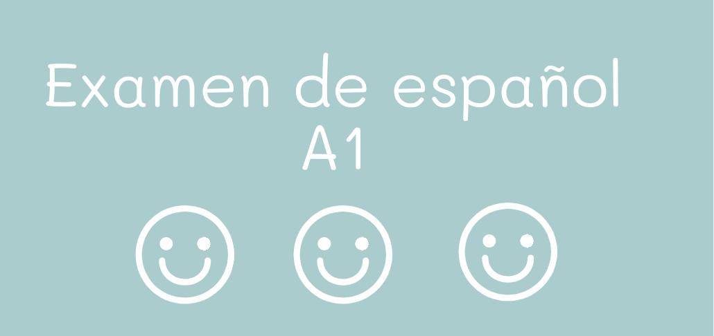Examen De Español Para Nivel A1 Descarga Docx