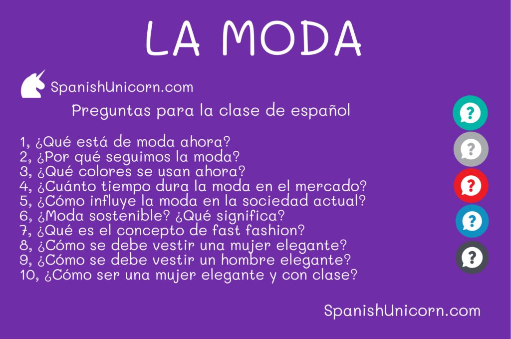 LA MODA - COCO CHANEL  ejercicios de gramática