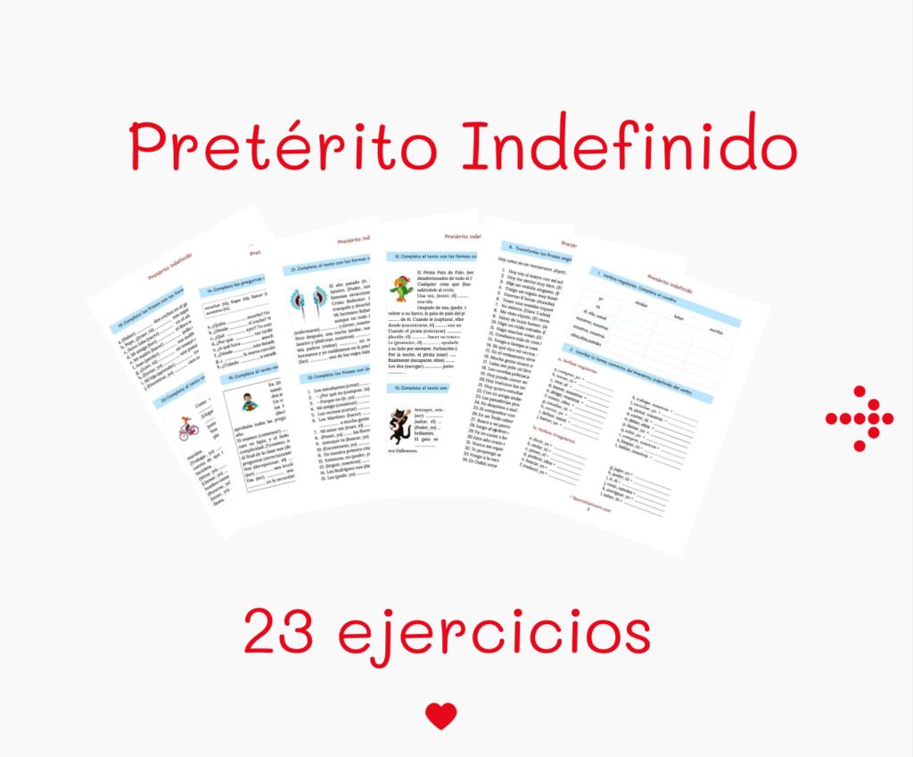 Indefinido Ejercicios Spanish