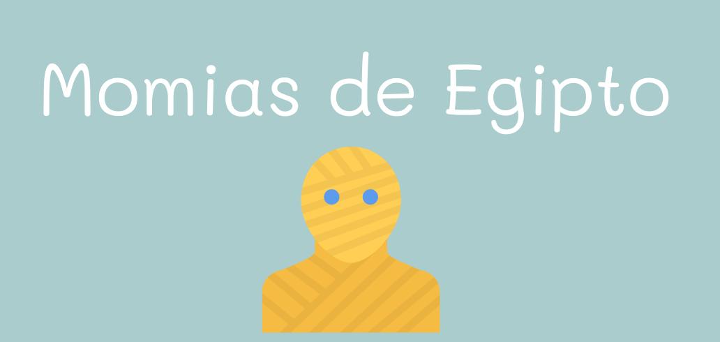 Momias de Egipto - completa el texto ejercicios