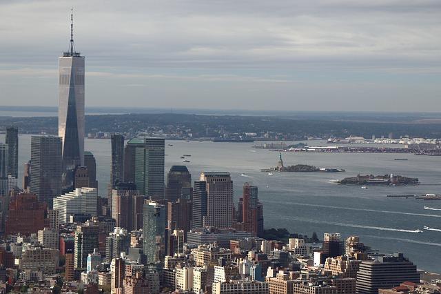 Estatua de la Libertad y Nueva York